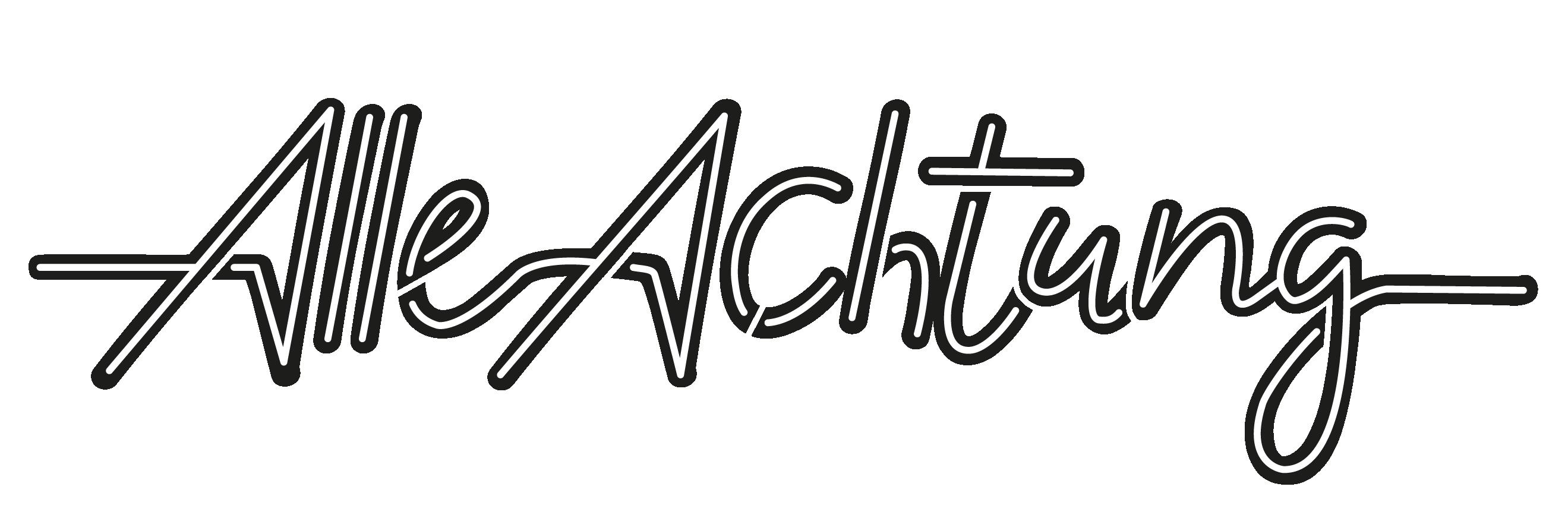 alle achtung logo
